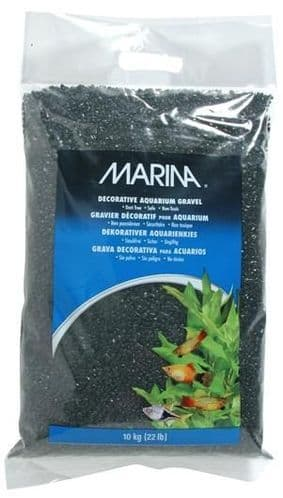Marina Black Decorative Aquarium Gravel 10kg